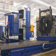 Milling of construction machine frame