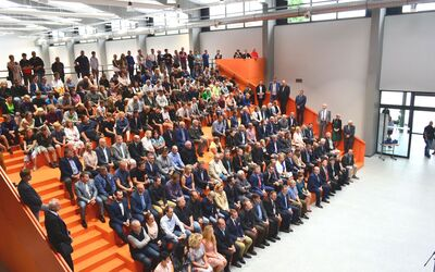 New TOS VARNSDORF Secondary Technical School building opens